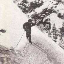 Paul Preuss Winterbegehung, Thurwieser Spitze