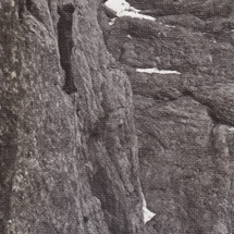 Paul Preuss in seiner vorletzten Tour Däumling im Goßaukamm - Sept. 1913