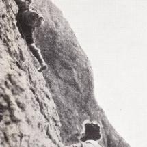 Paul Preuss mit Emmy Eisenberg Südwand Langkofel - 13.08.1911