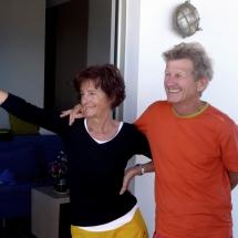 Albert Precht mit seiner Frau