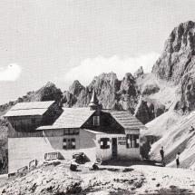 Preuss Hütte am Fuße der Vajolett Türme