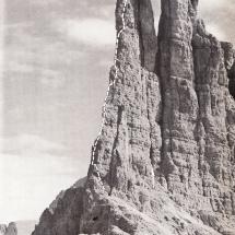 Preuss Route am Delagoturm in den Vajolett Türmen - 24.08.1911