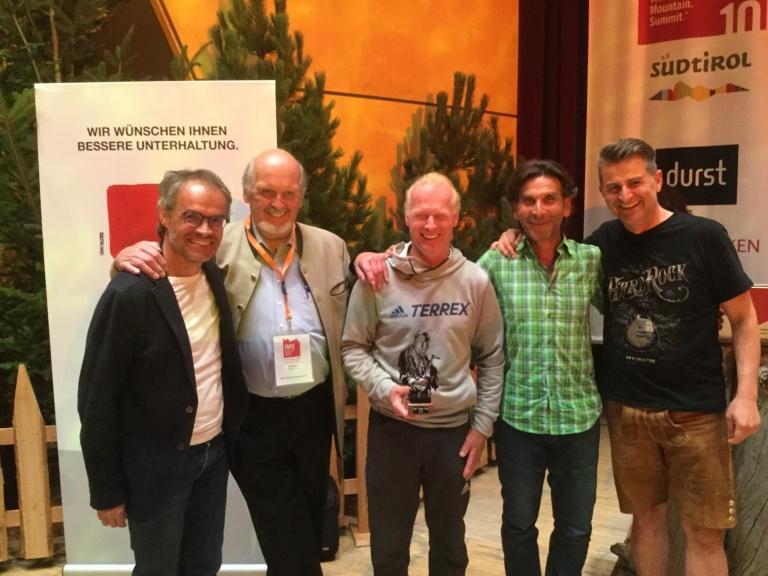 Beat Kammerlander erhält Paul-Preuss-Preis